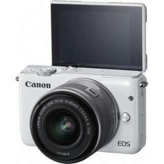 Kredit Canon EOS M10 Kit 15-45mm - Cicilan tanpa CC