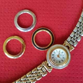 Authentic Anne Klein Watch w/ 4 bezels