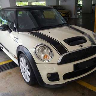 Mini Cooper S for rental