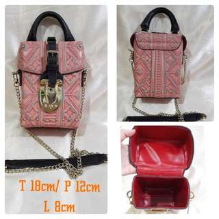 Tas pink  IMPORT (HIGH QUALITY)