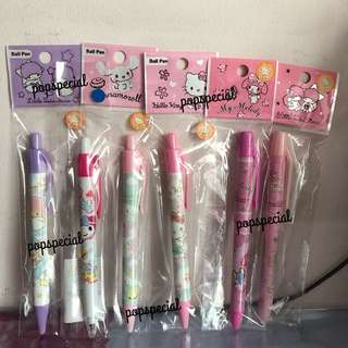 Sanrio Stationery Pens Gift Set