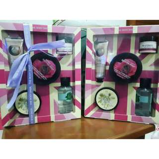 NEW GIFT SET MINI BeST COLLECTION BODY SHOP