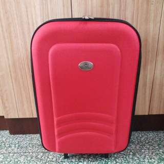 Motorola紅色輕便旅行喼行李箱
