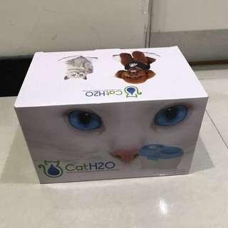 cat h2o 飲水器 飲水機 噴泉 貓 寵物 二手 「無濾網」約2/5出貨