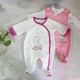 BABY CLUB Set of 2 Newborn