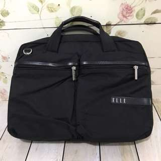 Elle notebook bag
