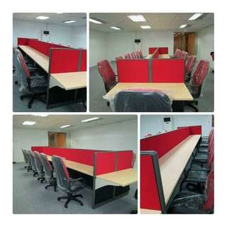 Cubicle partition / Call center table
