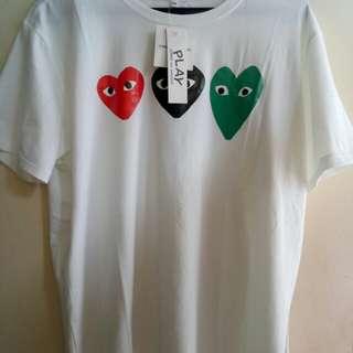 T-shirt play cdg