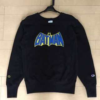 "[CHAMPION × BEAMS] ""Batman"" Sweatshirt"
