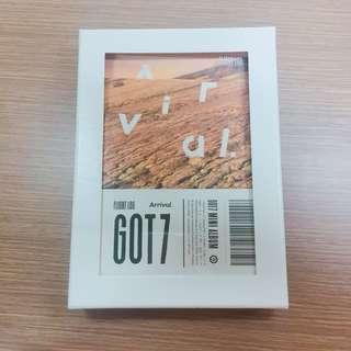 GOT7 Arrival album [UNSEALED]