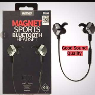 ⭐REMAX Magnetic Bluetooth Earphone⭐