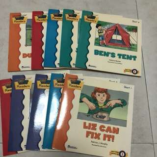 Reading rods phonics reader (10 books)