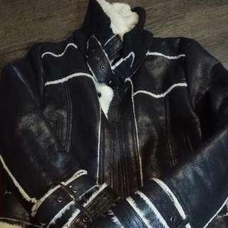 內毛騎士外套