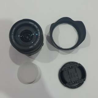 Sigma lens DC 18-200mm (for nikon)