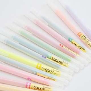 [NEW] Icolor Gel Ink Pen 36 Colors Set