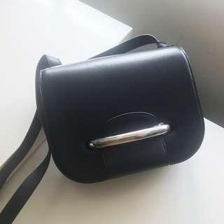 【Mulberry】Selwood Leather Shoulder Bag 學院包 黑色 Black