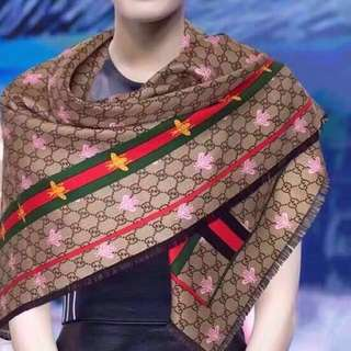 Authenthic Gucci  S/S 2018 silk scarf