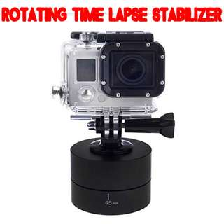 TGP005 360 Degree Panning Rotating Time Lapse Stabilizer for Gopro DSLR Smart Phone Camera