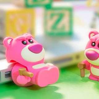 日本直送 Toy Story 反斗奇兵 Lotso 勞蘇熊 16 GB USB