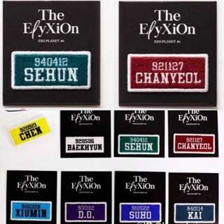 Exo Elyxion Replica Nametag