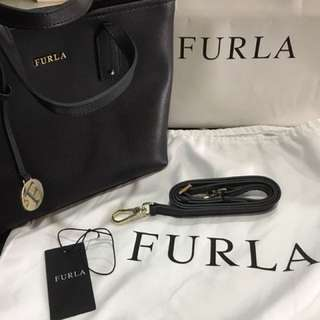 Pre-owned Furla beg, with dust beg and paper beg