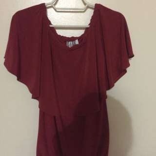 (NEW) Red Off shoulder