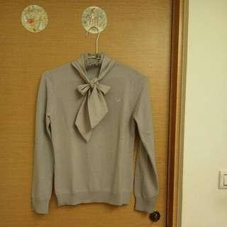 Scottish Hose蝴蝶結針織毛衣