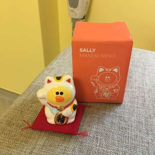 Line friends Sally 莎莉招財貓