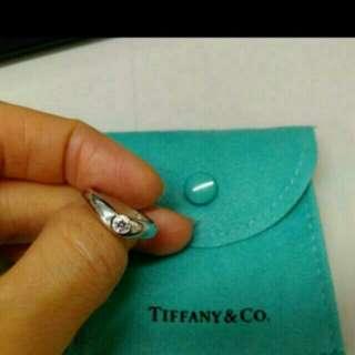 Tiffany pt950 ring