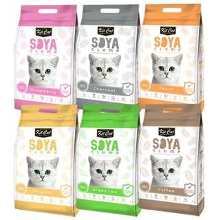 Kitcat soya litter