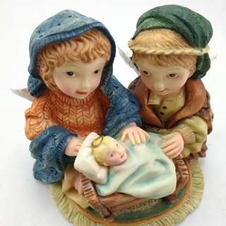 Perfect Little Place #7 Angel Ceramic Figurine Decor