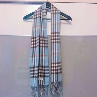 全新 義大利帶回羊毛圍巾