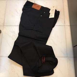 Japan boycott black unwash Denim men's made in Japan W30