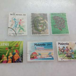 Malaysia Stamps 6V #113