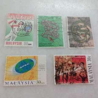 Malaysia Stamps 5V #114