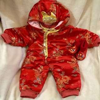 嬰兒賀年服