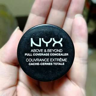 NYX Above and Beyond Full Coverage Concealer in Fair/Clair
