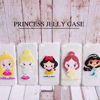 Princess Jelly Case (iphone&samsung)