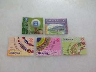 Malaysia Stamps 5V #117