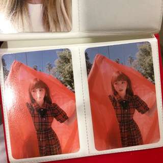 Wendy Perfect Velvet Photocard