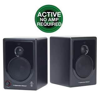 Cerwin-Vega Powered Active Desktop Speakers (UP $349) WAREHOUSE PRICE $150 a pair