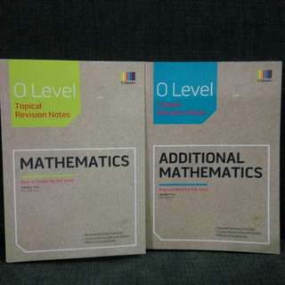 O Level TYS Math Revision Notes