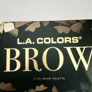 LA Colors Brow 13pc Brow Palette
