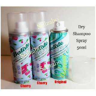 Express Dry Hair Mist Spray Shampoo : Batiste Instant Refresh Head 50ml Travel Size Sellzabo No Need Water Cleanser Travelling Winter Use
