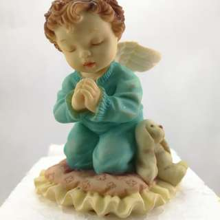 Perfect Little Place #15 Angel Ceramic Figurine Decor