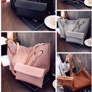 Korean Sling Bag 2in1