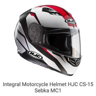 HJC helmet CS-15 MC1