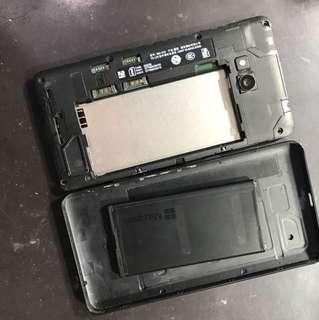 Nokia Lumia 640 壞液晶