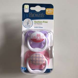 DrBrown's Silicone 6-12m