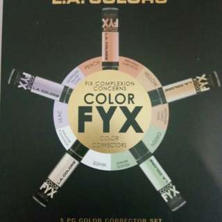 LA Colors Color FYX Color Correctors Set